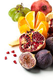 Group of fresh fruits Stock Photo