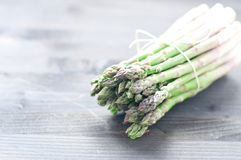 Group of fresh green asparagus Royalty Free Stock Image