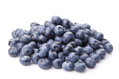 Group of fresh juisy blueberries Stock Image