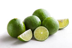 A group of fresh lime Stock Images