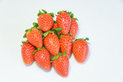 Group of fresh strawberry Stock Photography