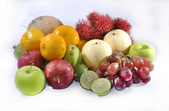 Group of fresh tropic fruit Royalty Free Stock Photography