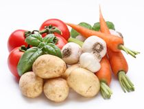 Group of fresh vegetables Stock Image