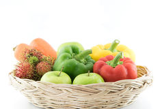 Group of Fresh vegetables Royalty Free Stock Photo