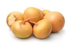 Yellow turnips stock photography
