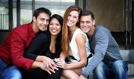 Group of friend Stock Images