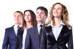 Group of friendly businesspeople Royalty Free Stock Photo