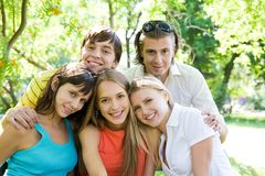 Group of friends Stock Photos