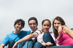 Group of friends Royalty Free Stock Image