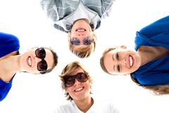 Group of friends Royalty Free Stock Images