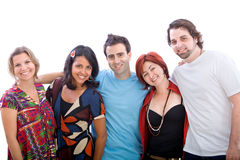 Group of friends Royalty Free Stock Photos