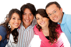 Group of friends Royalty Free Stock Photo