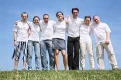 Group of friends Stock Images