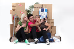 A group of friends Royalty Free Stock Image