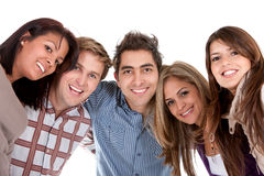 Group for friends Royalty Free Stock Photos
