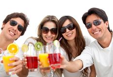Group of friends Stock Photography