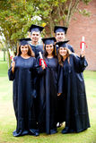 Group of friends at graduation Royalty Free Stock Photography