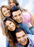 Group of friends having fun Stock Photography