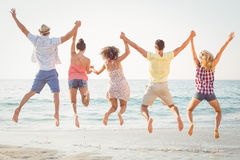Group of friends having fun Royalty Free Stock Photography