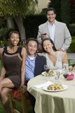 Group Of Friends Having Lunch Stock Images