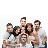 Group friends people having fun Royalty Free Stock Image