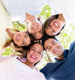 Group of friends together Royalty Free Stock Photos