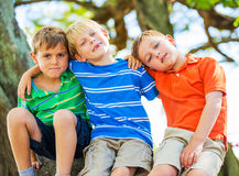Group of Friends, Young Kids Royalty Free Stock Images