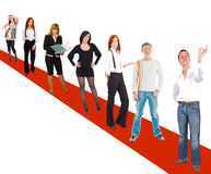 Group of frienfly people Royalty Free Stock Images
