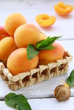 Group fruit apricot Royalty Free Stock Photography