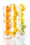 Group of fruit: Oranges, Lemons, Appless Stock Photos