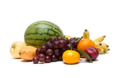 Group of fruits Stock Images