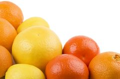 Group of fruits. Royalty Free Stock Image