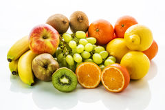 Group of fruits Royalty Free Stock Image