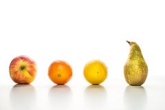 Group of fruits Royalty Free Stock Images