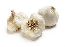 Group of garlic Stock Photo