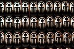 Group of gas lighters Royalty Free Stock Image