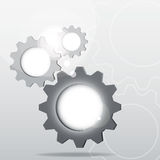 Group of Gear abstract design Royalty Free Stock Image