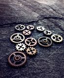 Group of gears Stock Photo