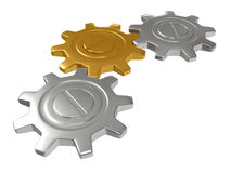 Group of gears Stock Photography