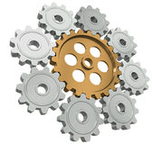Group gears Stock Image