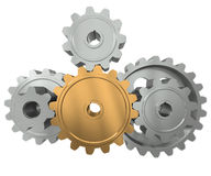 Group gears Royalty Free Stock Photo