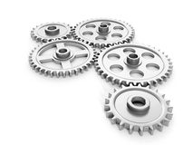 Group gears Stock Images