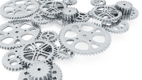 Group of gears Royalty Free Stock Photos
