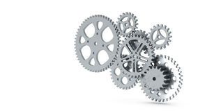 Group of gears Royalty Free Stock Image