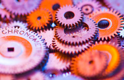 A group gears Stock Images