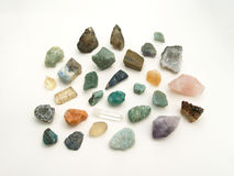 A group of gemstones Royalty Free Stock Images