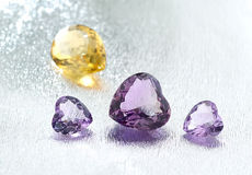 Group of gemstones. Royalty Free Stock Image