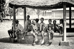 Group of Ghanaian children Stock Image
