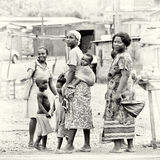 Group of Ghanaian people poses for the camera Stock Photography