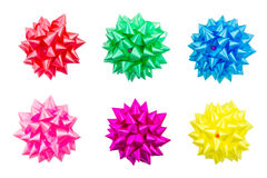 Group of Gift Bow Stock Images